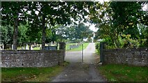 NH5757 : Entrance to the Urquhart Burial Ground by Gordon Brown