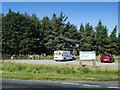 NZ1441 : Car park for Hedleyhope Fell Nature Reserve by Trevor Littlewood