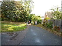 SK1209 : Running out onto Boley Cottage Lane by Richard Law