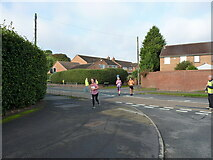 SK1308 : Darnford Lane at the junction with Ryknild Street by Richard Law