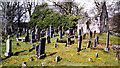 NG9141 : Lochcarron Old Burial Ground by Trevor Littlewood
