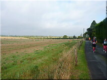 SK1408 : Runners heading south on Marsh Lane by Richard Law