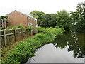 SU1404 : Bickerley Millstream, Ringwood by Malc McDonald