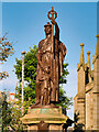 ND1168 : 'Victory' on Thurso War Memorial by David Dixon