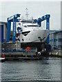 SZ0090 : Sunseeker yacht builders, Poole by Chris Allen