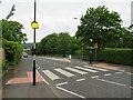 SE1247 : Zebra crossing on Cowpasture Road, Ilkley by Malc McDonald