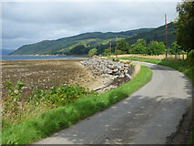 NR9384 : The B8000 road at Otter Ferry by Thomas Nugent