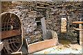 HY2318 : Inside a Neolithic House at Skara Brae by David Dixon