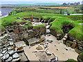 HY2318 : Skara Brae Neolithic Village by David Dixon
