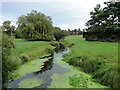 TL9374 : The tailrace at Bardwell Watermill by Adrian S Pye