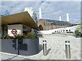 TQ2977 : Battersea Power Station Tube station and Battersea Power Station by Marathon