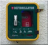 NR9378 : Kilfinan Community Hall defibrillator by Thomas Nugent