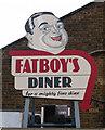 TQ3980 : Trinity Buoy Wharf : restaurant sign by Jim Osley