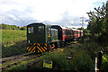 SK0207 : Chasewater Railway - last train of the day by Chris Allen