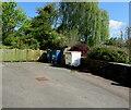 SO6303 : Suez wheelie bins, Lydney by Jaggery