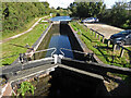 SO8560 : Droitwich Barge Canal - lock No. 3 by Chris Allen