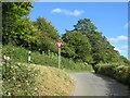 TQ5759 : Road junction near Heaverham by Malc McDonald