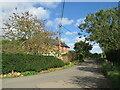 TQ5858 : Kemsing Road, near Wrotham by Malc McDonald
