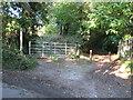 TQ6762 : Restricted byway near Snodland by Malc McDonald