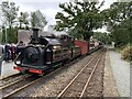 SH6038 : Welsh Pony at Minffordd with a rake of Victorian coaches by Richard Hoare