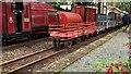 SH6038 : A gravity train - the last trucks by Richard Hoare