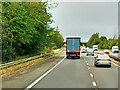 NS7942 : M74 Motorway near to Kirkmuirhill, by David Dixon