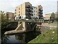 TQ3681 : The Regent's Canal at Johnson's Lock by Marathon