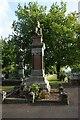 SO9389 : War Memorial in Borough Cemetery by Ian S