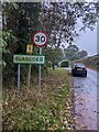 SO3301 : Glascoed boundary sign, Monmouthshire by Jaggery