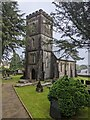 ST3398 : Church tower, Coed-y-Paen, Monmouthshire by Jaggery