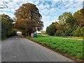 SP5725 : Parking area on Banbury Road, Caversfield by David Howard