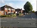 SO8355 : Comer Road seen from Oldbury Road, Worcester by Chris Allen