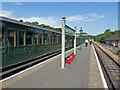 SZ5589 : Isle of Wight Steam Railway - Havenstreet Station by Chris Allen