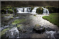 SK1865 : Falls on the River Lathkill by Andy Stephenson