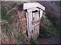SS1915 : Hawker's Hut on the cliff-side near Morwenstow by Dysdera