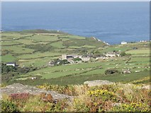 SW4538 : Zennor, from Zennor Hill by Alan Simkins