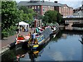 SP0586 : Narrowboats in Brum by David Stowell