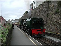SH4862 : Caernarfon Station by David Stowell