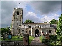TL3949 : Barrington Church by mym
