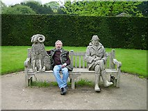 SK6464 : Rufford Country Park Sculpture Garden by Penny Mayes