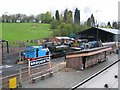 SO7192 : Bridgnorth engine shed on the Severn Valley Railway by David Stowell