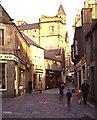 HU4741 : Commercial Street, Lerwick by Anne Burgess