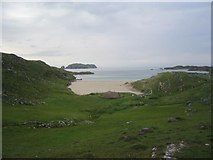 NB1340 : Bostadh beach, Great Bernera by Tom Pullman