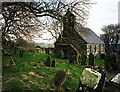 SC3278 : Marown Old Church by Andy Stephenson