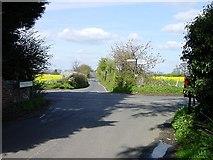 TQ8959 : Bexon Crossroads by Penny Mayes