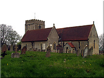 SU4980 : Church at East Ilsley by Pam Brophy