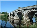 SJ5409 : Old Atcham Bridge by John Phillips