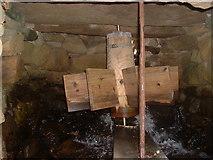 HU1757 : Huxter Mills, Shetland - a horizontal wheel by David Medcalf