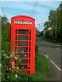 SJ4434 : Phonebox by Andy and Hilary