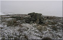 NN6354 : The summit of Meall Breac by Richard Webb